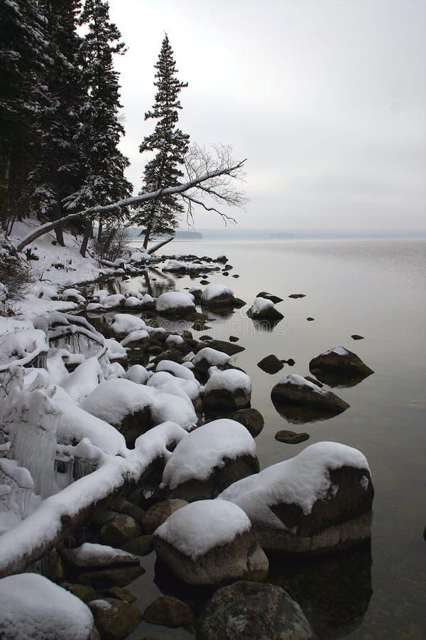 11月1日海岸线 图库摄影