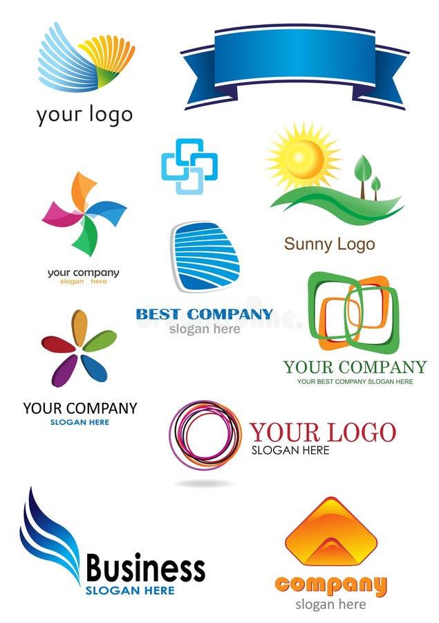 11 логос иллюстрация вектора