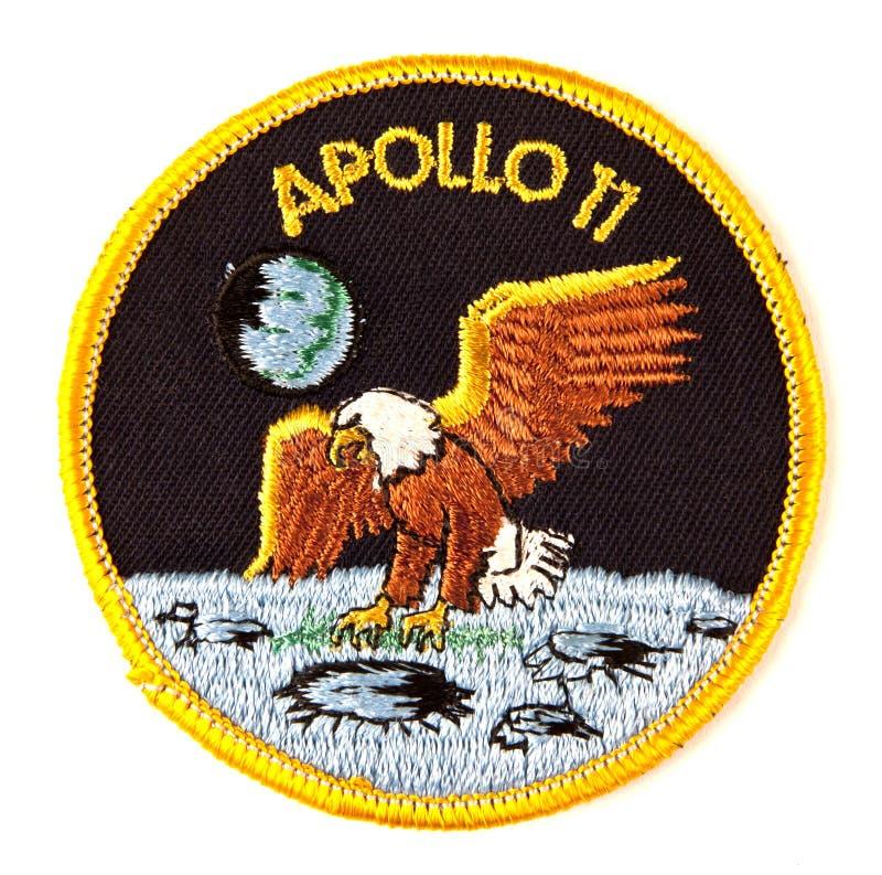11 Apollo odznaki misi astronautyczny kostium zdjęcia royalty free