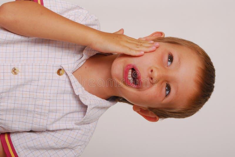 11 ekspresyjny dzieciaku obraz stock