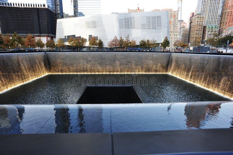 11 minnes- nationella september arkivbild