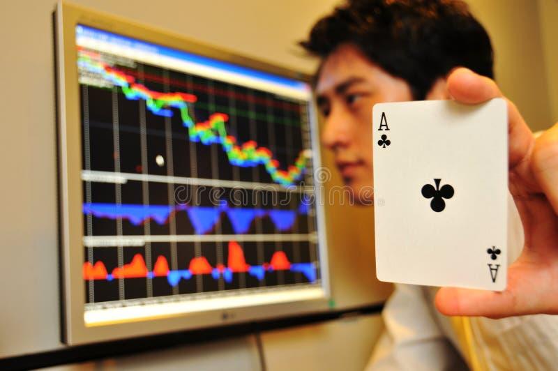 11 rynku akcyjny dopatrywanie obrazy royalty free