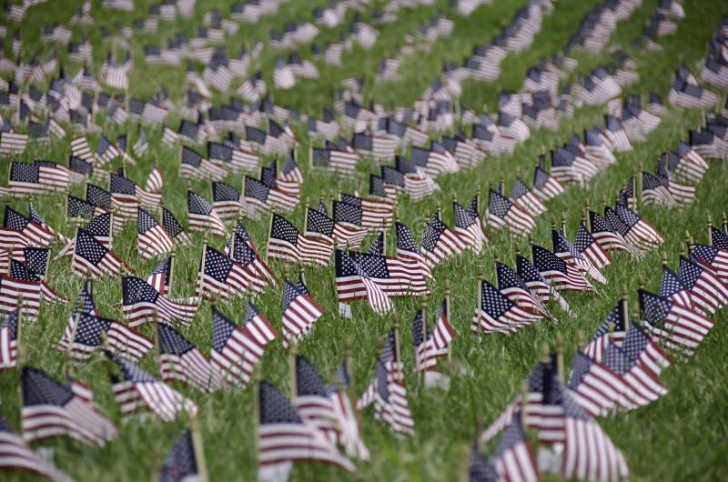 11 september gedenkteken, de V.S. royalty-vrije stock fotografie