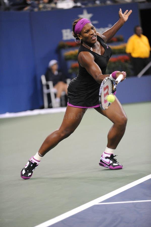 110 2009 otwarty Serena my Williams zdjęcie royalty free