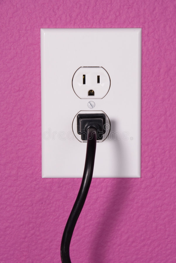 A 110 volt wall outlet stock photo. Image of appliance - 3968624