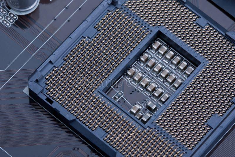 1156 cpu插口 图库摄影
