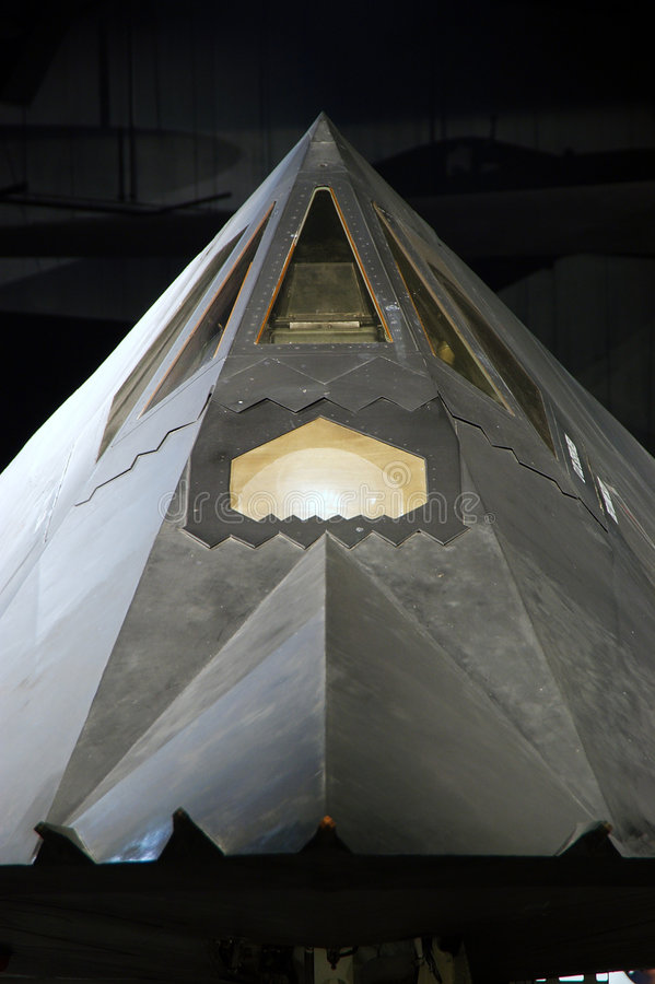 117 F战斗机夜生活者秘密行动 免版税库存图片
