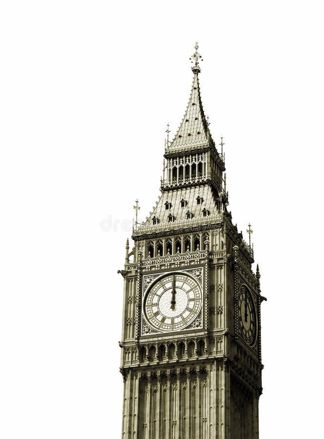 12个时钟以后的新的o年 免版税图库摄影