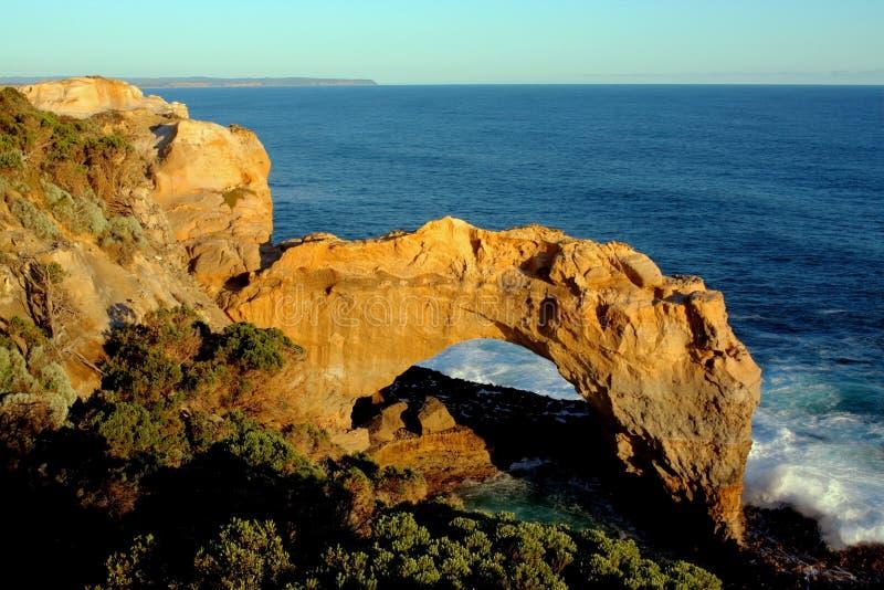 12位传道者澳洲极大的海洋路维多利亚 库存图片