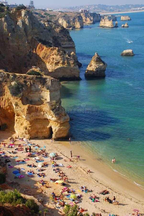12葡萄牙海边 免版税库存图片