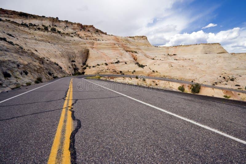 12高速公路犹他 库存图片