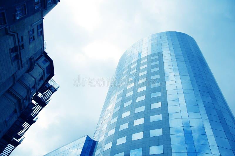 12 κτήρια εταιρικά στοκ εικόνα