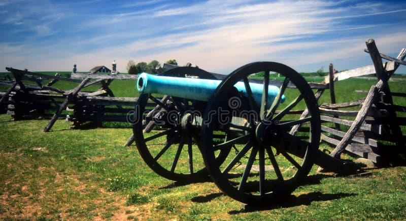 12 λίβρες πυροβόλων napoleon στοκ εικόνα