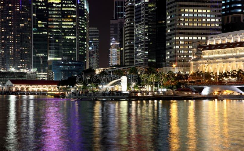 12 ноча singapore стоковая фотография