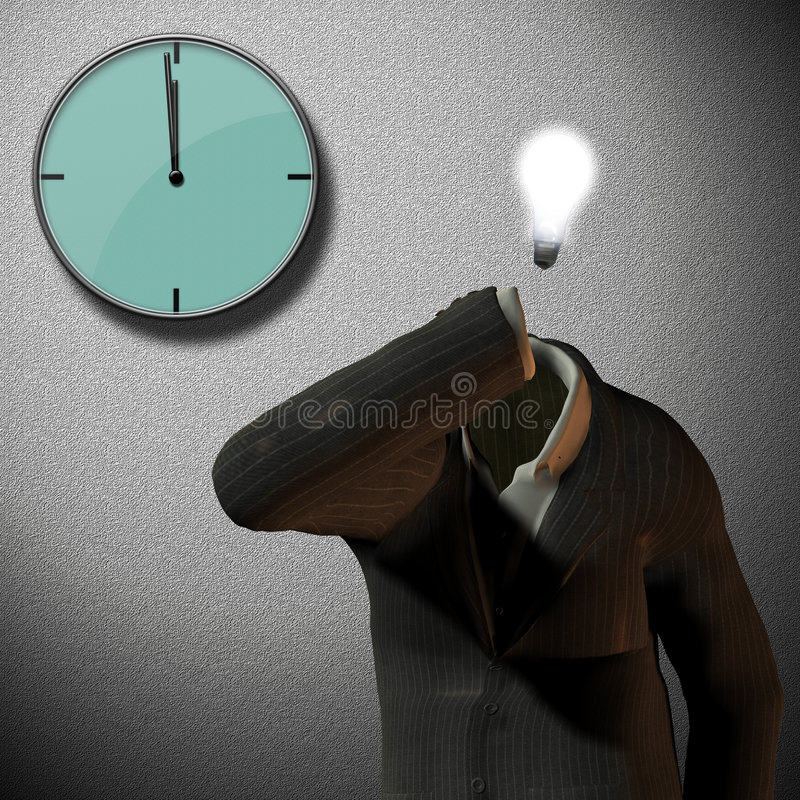 12 часы o иллюстрация вектора