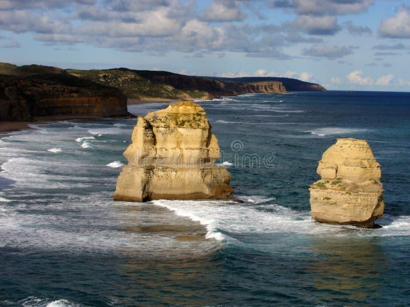 12 apóstolo, grande estrada do oceano fotos de stock royalty free