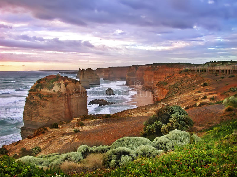 12 Apostles, Great Ocean Road stock image