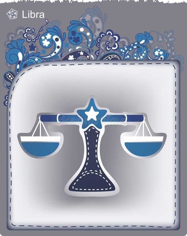 12 constellations illustration stock