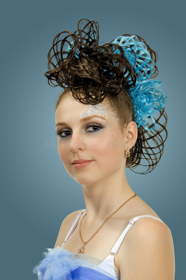 12 fryzura obraz stock