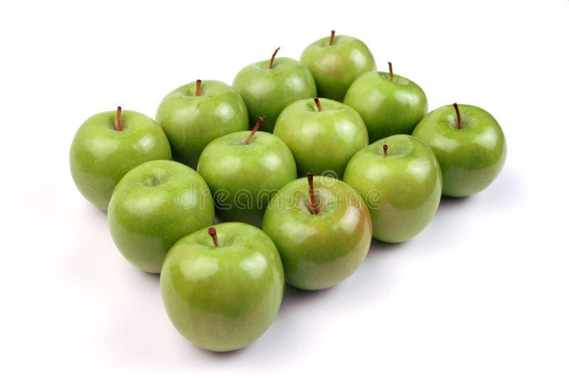 12 jabłka obraz stock