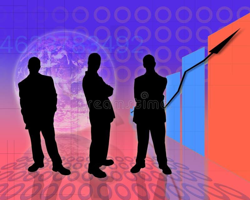 12 koncepcja przedsiębiorstw ilustracja wektor