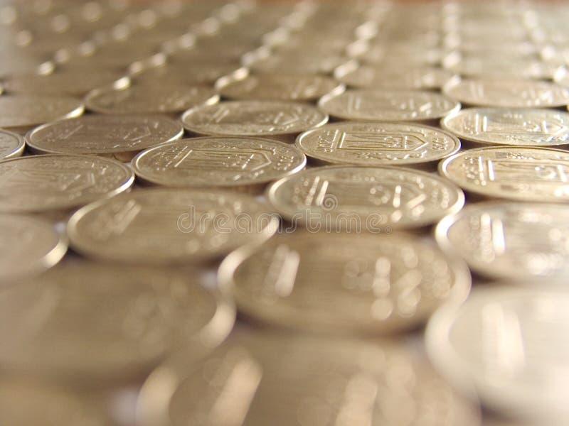 12 monety fotografia royalty free