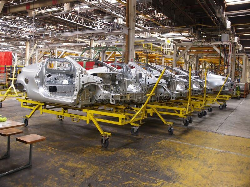 12 samochodów produkcja fotografia royalty free