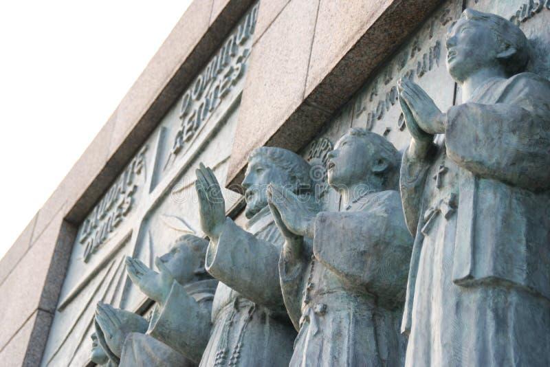 12 santos de Nagasaki fotografía de archivo