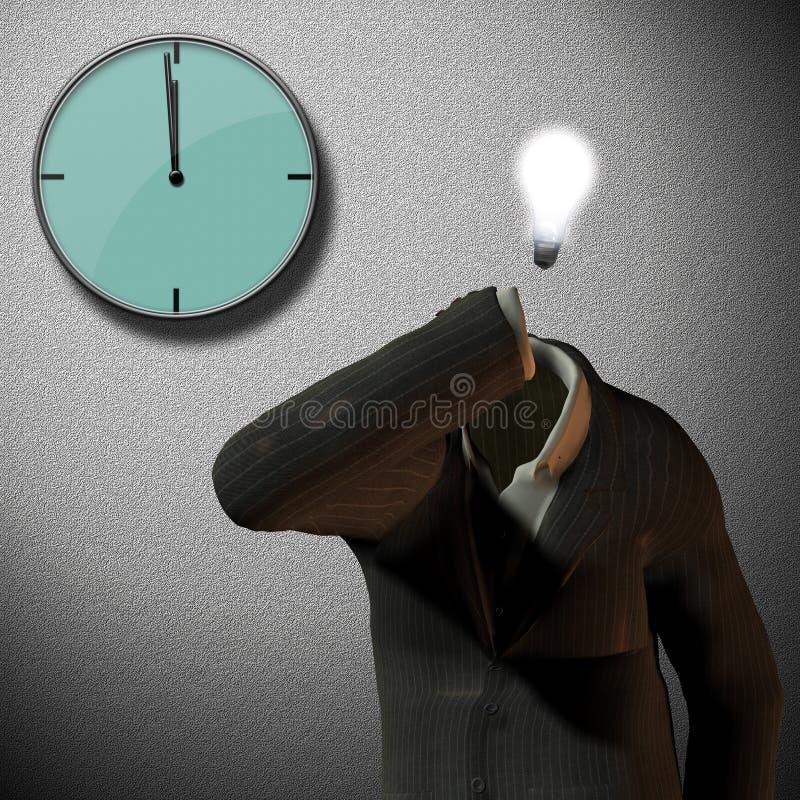 12 Uhr vektor abbildung