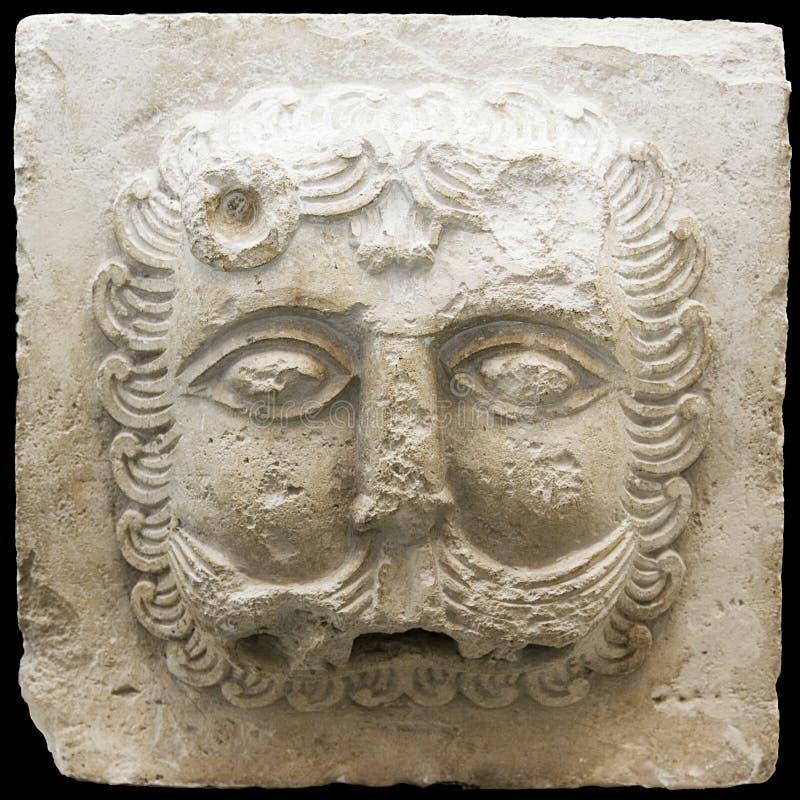 12 wieków basów końca lwa kamienia ulgę white zdjęcie royalty free