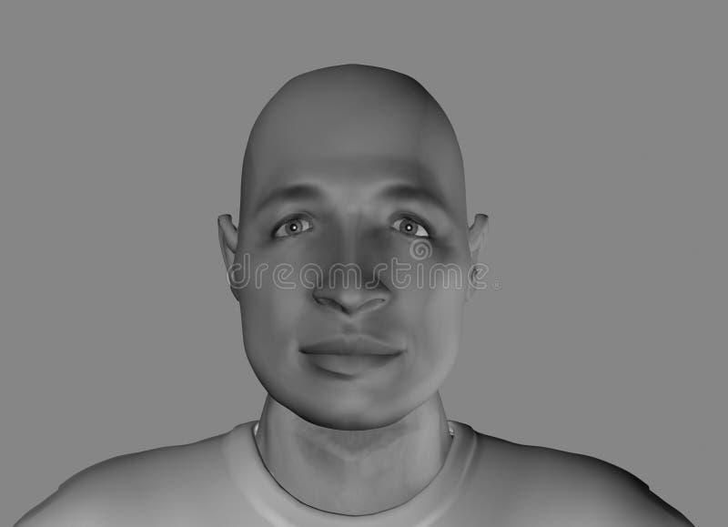12 zabawna twarz ilustracja wektor