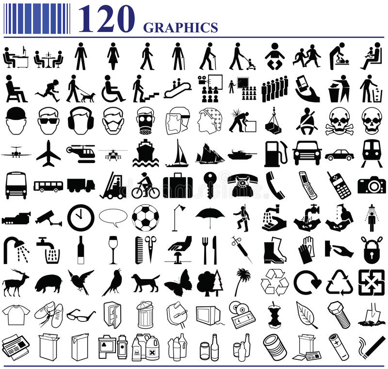 120 grafika royalty ilustracja