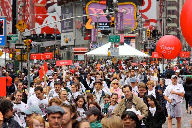 12mo EIF REVLON dirigido/caminata para las mujeres, NY fotografía de archivo