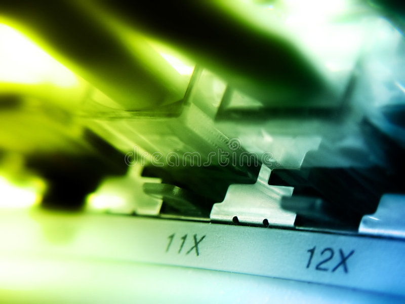 12x网络连接 库存图片
