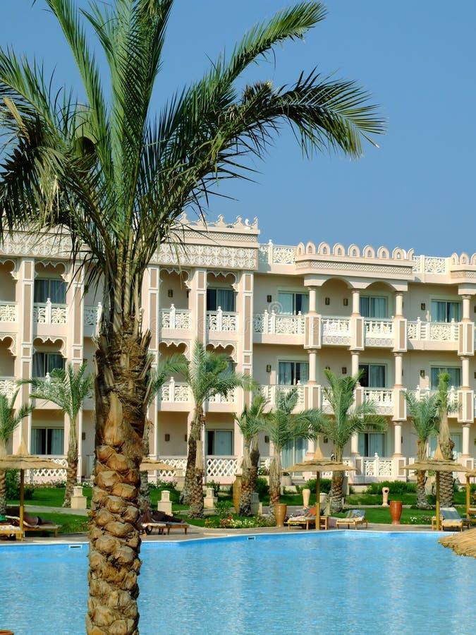 13家旅馆hurghada 免版税库存照片