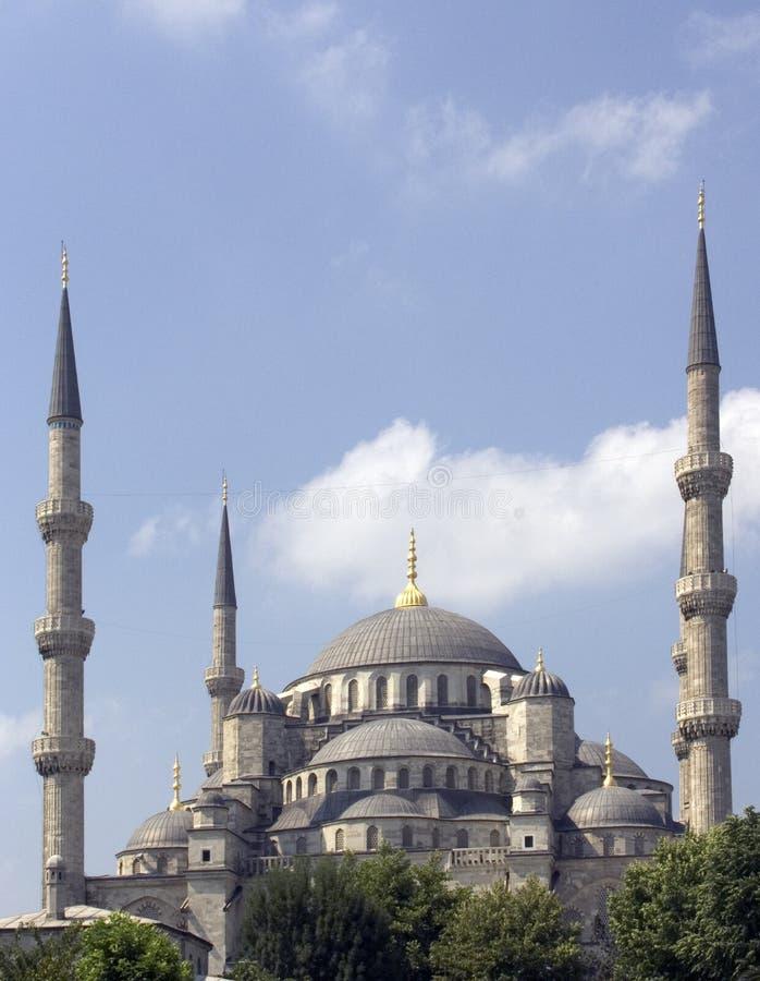 13蓝色清真寺 图库摄影