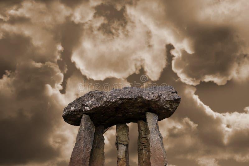 13 αρχαίες πέτρες στοκ φωτογραφία