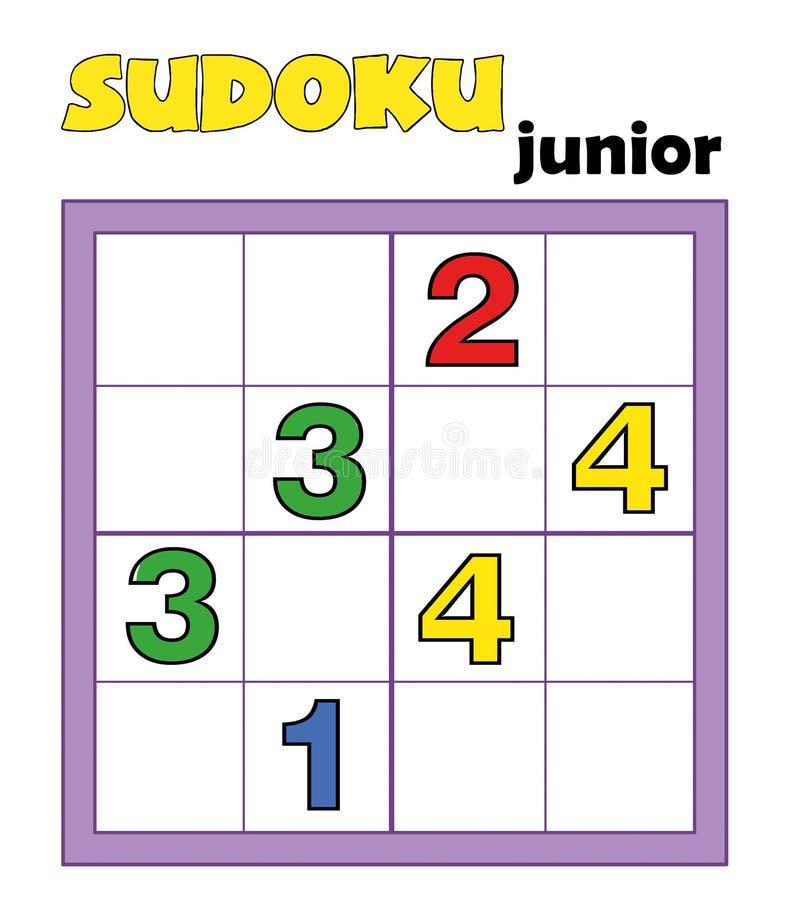 13 96场比赛sudoku 库存例证