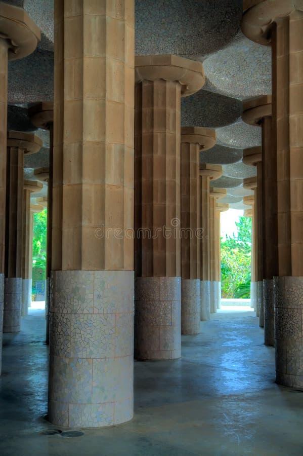 Download 13 Barcelona guell park obraz stock. Obraz złożonej z landmark - 13332505