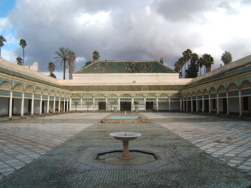 13 marrakesh arkivbilder