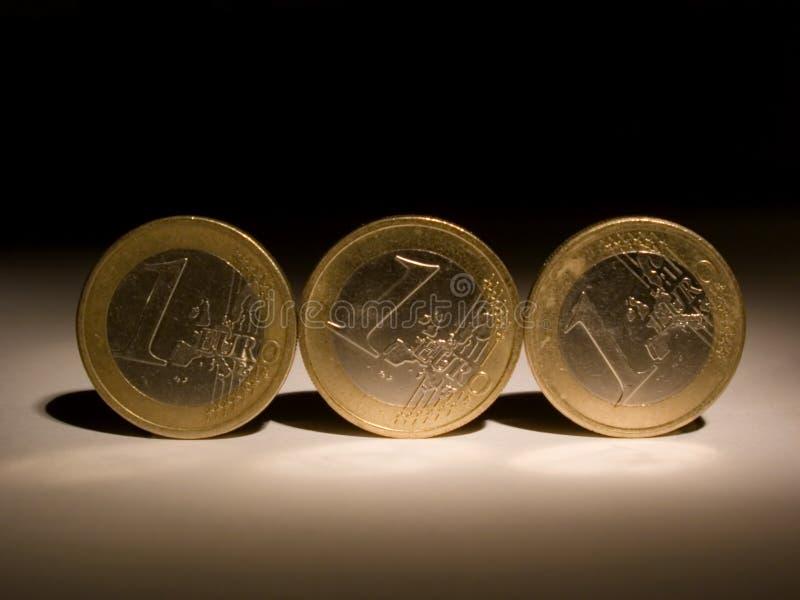 13 monety obraz stock
