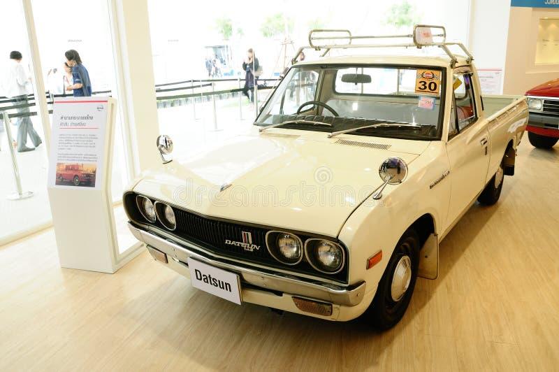 1300 samochodowych cc Datsun l620 pickup rocznika zdjęcia stock