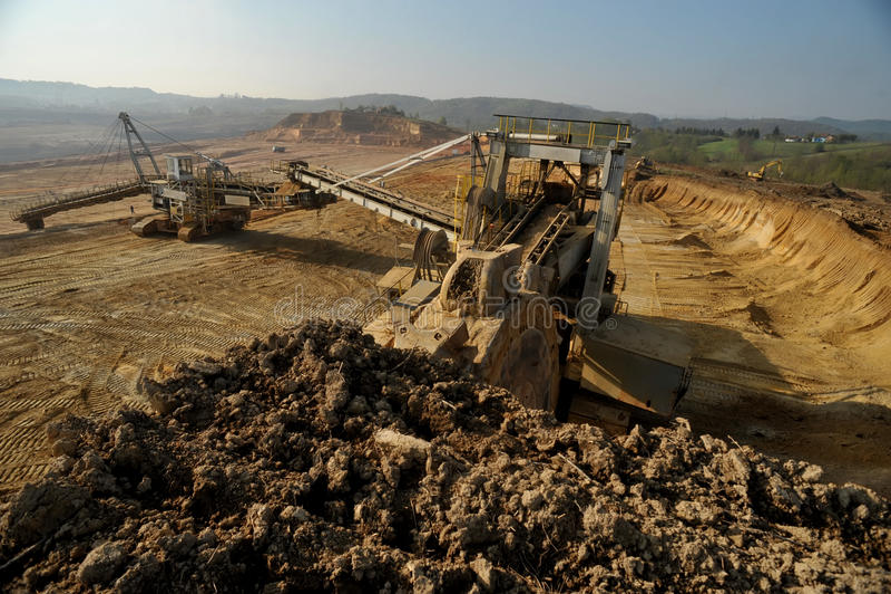 14煤矿 免版税库存图片