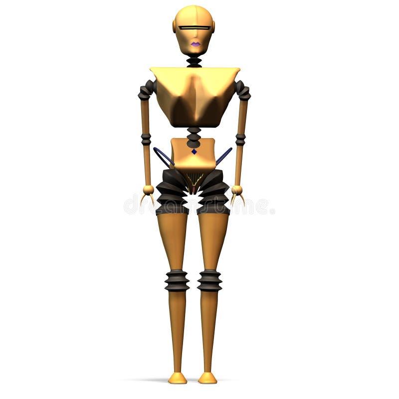 14 отсутствие роботов иллюстрация вектора
