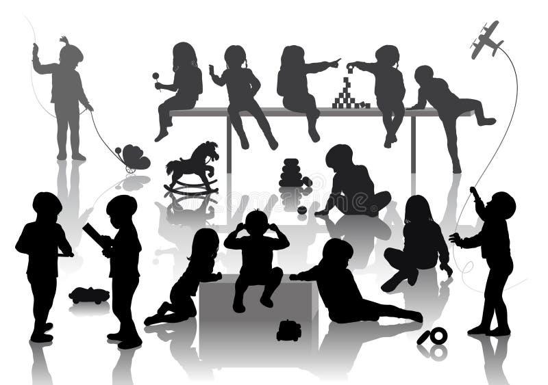 14 Crianças Imagens de Stock Royalty Free
