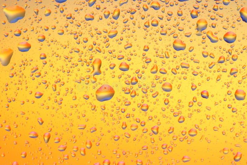 14 kropli wody. zdjęcie royalty free
