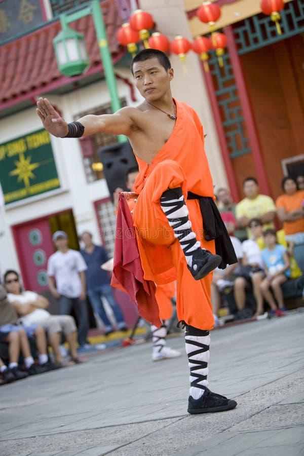 14 shaolin kung - fu. obrazy royalty free