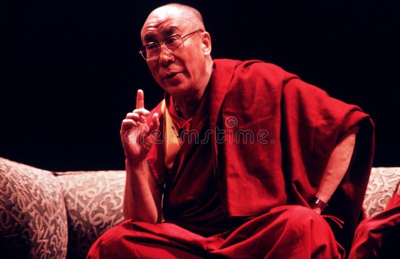 14th Dalai Lama tibet royaltyfri foto