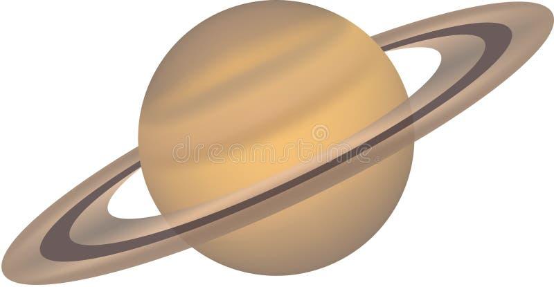 15个查出的行星系列 向量例证