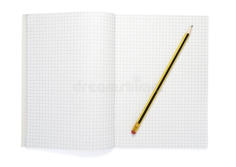 15个笔记本铅笔 库存照片